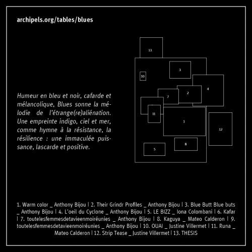 blues   Mise en page réalisée par Nicolas Pirus https://nicolaspirus.com/